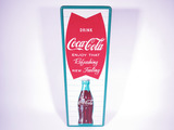 LATE 1950S COCA-COLA TIN SIGN