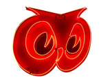 1950S RED OWL GROCERY STORES NEON MARQUEE SIGN