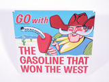 1960S PHILLIPS 66 FUEL ISLAND TIN SIGN