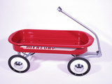 1940S MERCURY CHILDS RED METAL PULL-WAGON