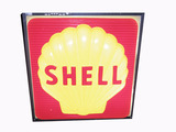 1960S SHELL OIL LIGHT-UP THREE-DIMENSIONAL SIGN