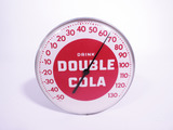 1950S DOUBLE COLA THERMOMETER