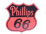 1948 PHILLIPS 66 OIL PORCELAIN SIGN