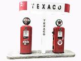 TEXACO GAS STATION ISLAND