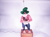 1966 MOUNTAIN DEW WILLY THE HILLBILLY MECHANICAL DISPLAY