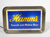 1940S-EARLY 50S HAMMS BEER LIGHT-UP SIGN