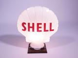CIRCA 1940S SHELL OIL GAS PUMP GLOBE