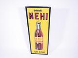 1930S NEHI BEVERAGES TIN SIGN
