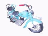 1950S LENAERTS OF BELGIUM INDIAN MOTORCYCLE CAROUSEL RIDE
