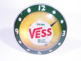 LATE 1950S-EARLY 60S VESS COLA LIGHT-UP CLOCK