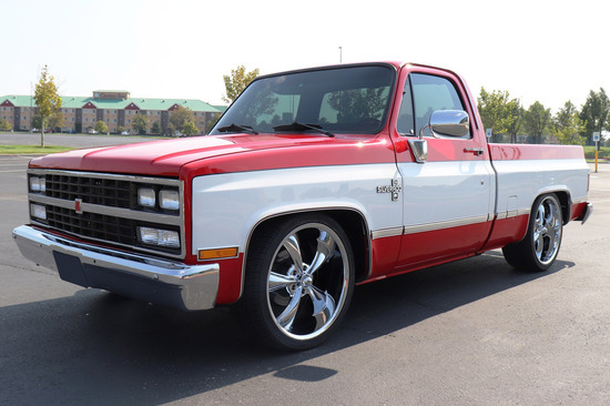 1984 CHEVROLET C10 CUSTOM PICKUP