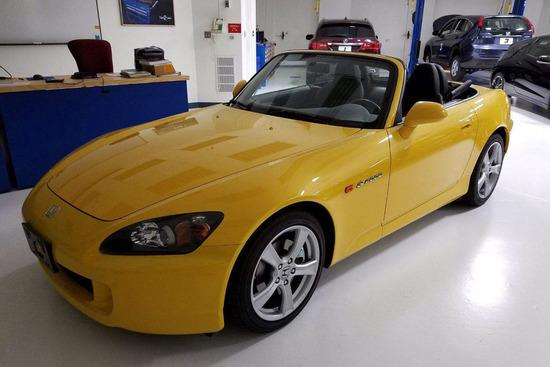 2008 HONDA S2000 CONVERTIBLE