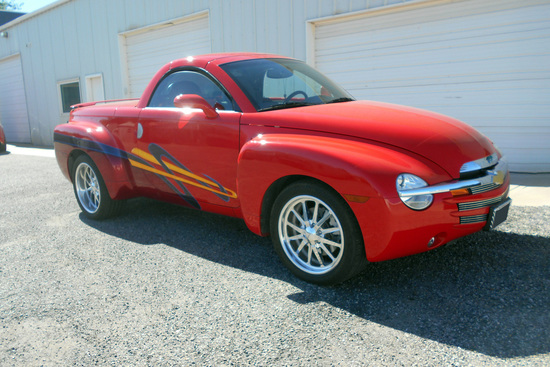 2005 CHEVROLET SSR CUSTOM PICKUP