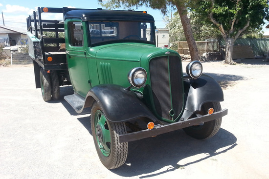 1934 CHEVROLET STAKE BED TRUCK