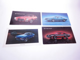 LOT OF FOUR CHEVROLET CAMARO DEALER CARDBOARD SIGNS