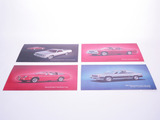 LOT OF FOUR VINTAGE CHEVROLET DEALER CARDBOARD SIGNS