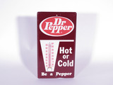 LATE 1960S DR PEPPER TIN THERMOMETER