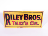 1930S RILEY BROTHERS EMBOSSED TIN SIGN