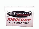 1960S KIEKHAEFER MERCURY OUTBOARDS TIN SIGN