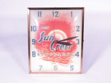 1950S SUNCREST ORANGE SODA LIGHT-UP CLOCK