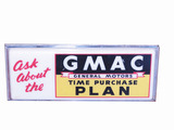 EARLY 1960S GMAC LIGHT-UP SIGN