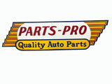 VINTAGE PARTS-PRO QUALITY AUTO PARTS TIN SIGN