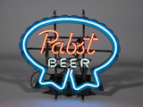 VINTAGE PABST BEER NEON SIGN