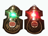 VINTAGE PAIR OF SCHAEFER BEER LIGHT-UP SIGNS