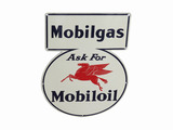 1941 MOBILGAS TIN SIGN
