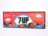 LATE 1960S-EARLY '70S 7UP LEXAN SIGN