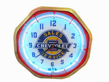 1930S CHEVROLET SALES-SERVICE CLOCK