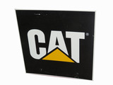 ADDENDUM  ITEM- VINTAGE CAT MACHINERY TIN SIGN