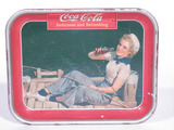 1940 COCA-COLA METAL SERVING TRAY