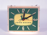 1960S JOHN DEERE LIGHT-UP CLOCK