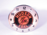 1950S HUDSON COAL LIGHT-UP CLOCK