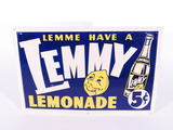 1940S LEMMY LEMONADE TIN SIGN