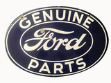 CIRCA 1930S FORD GENUINE PARTS PORCELAIN SIGN
