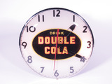 LATE 1940S DOUBLE-COLA LIGHT-UP CLOCK