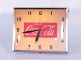 EARLY 1960S COCA-COLA LIGHT-UP CLOCK