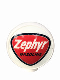 EARLY 1950S ZEPHYR GASOLINE GAS PUMP GLOBE