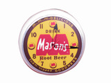 ADDENDUM ITEM - LATE 1950S MASON'S ROOT BEER LIGHT-UP CLOCK