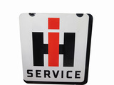 1950S INTERNATIONAL HARVESTER SERVICE PORCELAIN SIGN