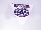 AAA EMERGENCY SERVICE OF WASHINGTON PORCELAIN SIGN