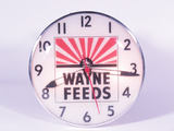 1960S WAYNE FEEDS LIGHT-UP CLOCK