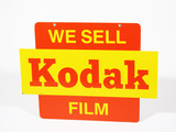 EARLY 1960S KODAK FILM TIN SIGN