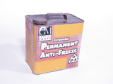1936 GM PERMANENT ANTI-FREEZE TIN