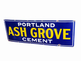 1930S PORTLAND ASH GROVE CEMENT PORCELAIN SIGN