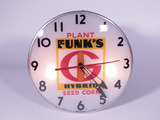 LATE 1950S-EARLY '60S FUNK'S HYBRID LIGHT-UP CLOCK