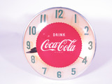 1950S COCA-COLA LIGHT-UP CLOCK