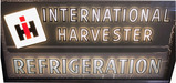 CIRCA LATE 1940S INTERNATIONAL HARVESTER REFRIGERATION LIGHT-UP SIGN